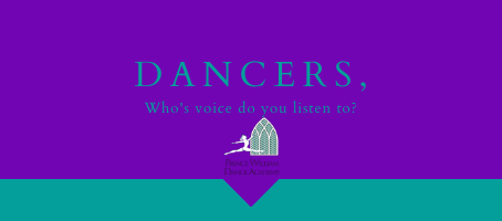Dancers: Whose voice do you listen to?