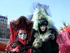 Nancy & Kathleen 2007 Paris Carnival sma