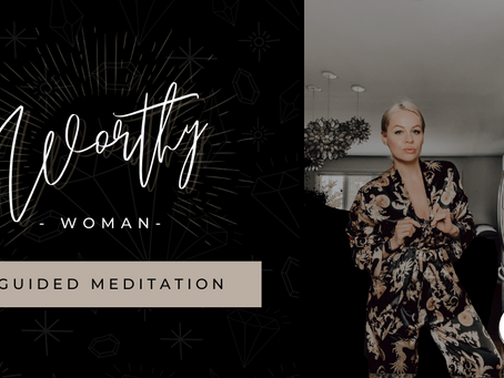 Worthy Woman Guided Meditation with Theta Waves