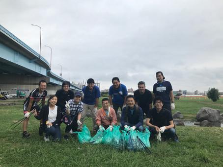 今年も多摩川クリーン作戦に参加しました(^▽^)/