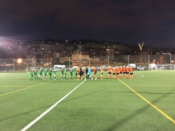 Friendly game in Barcelona