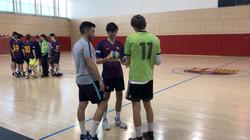 Handball Friendly Games against Barcelona