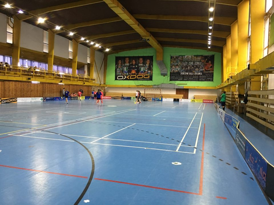 Floorball training camp