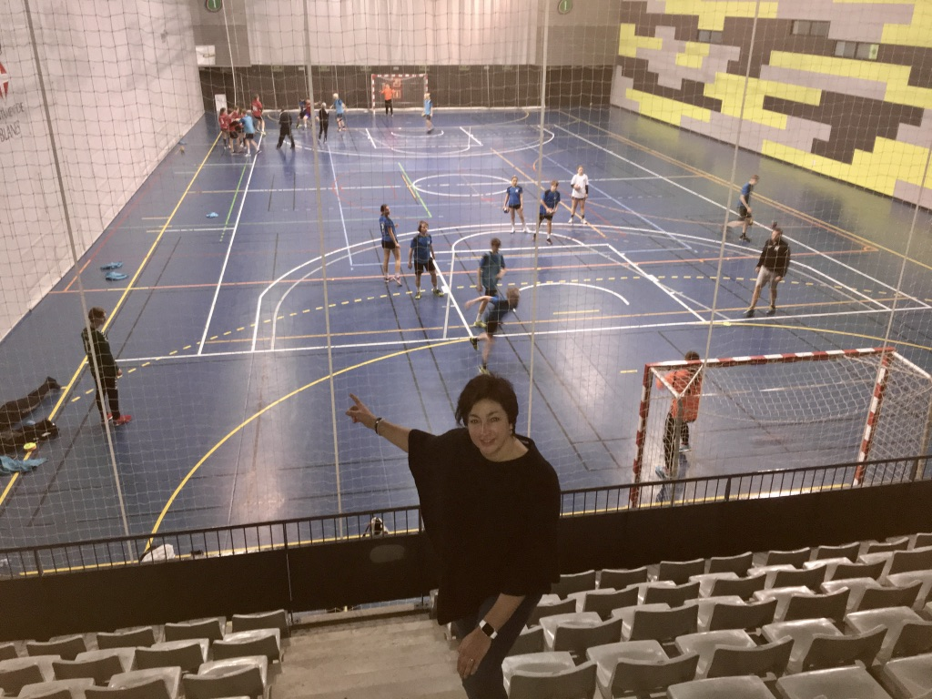 Handball training camp