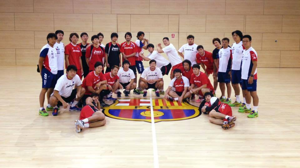 Japan national team in FC Barcelona