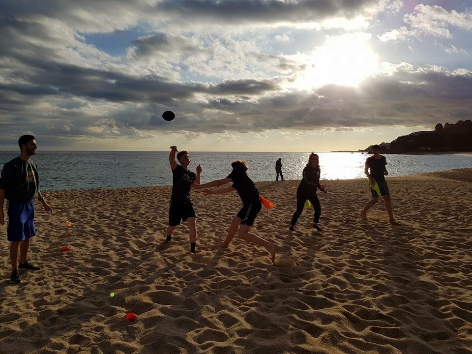 Training camp by the sea