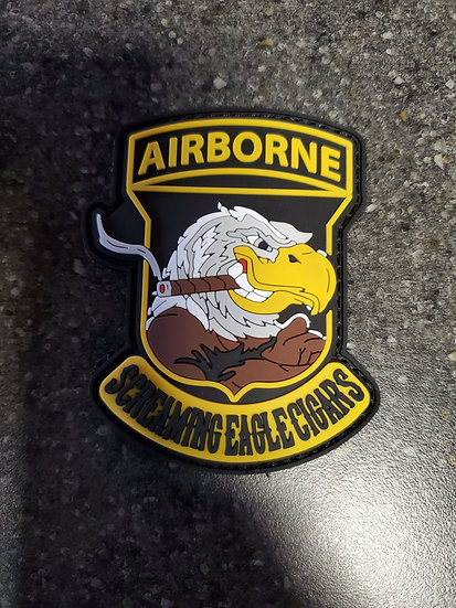 Screaming Eagle Cigars Velcro Patch