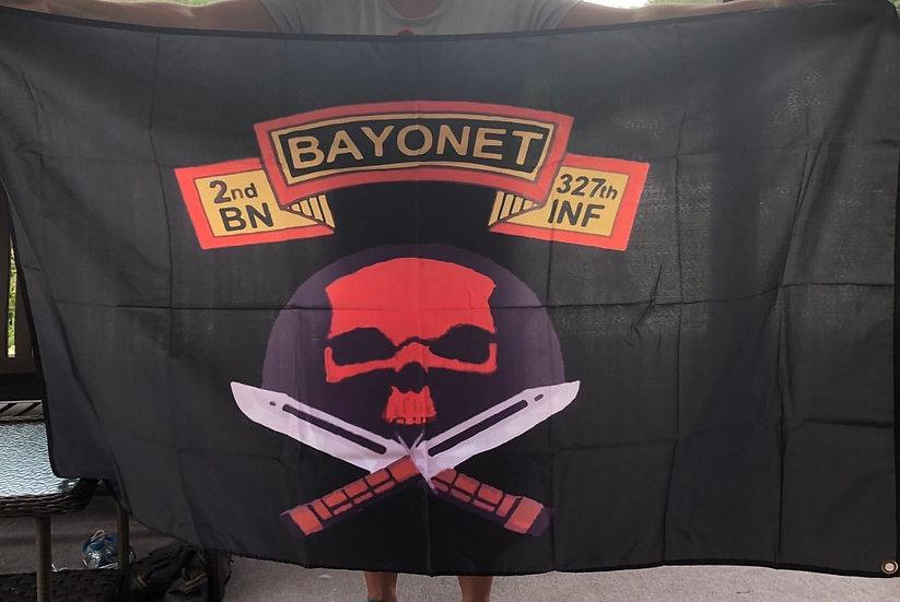 Bayonet Company 2/327 Flag
