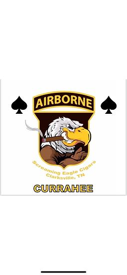 Currahee Screaming Eagle Cigars Flag