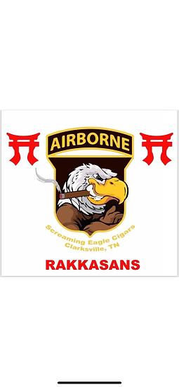 Rakkassan Screaming Eagle Cigars Flag