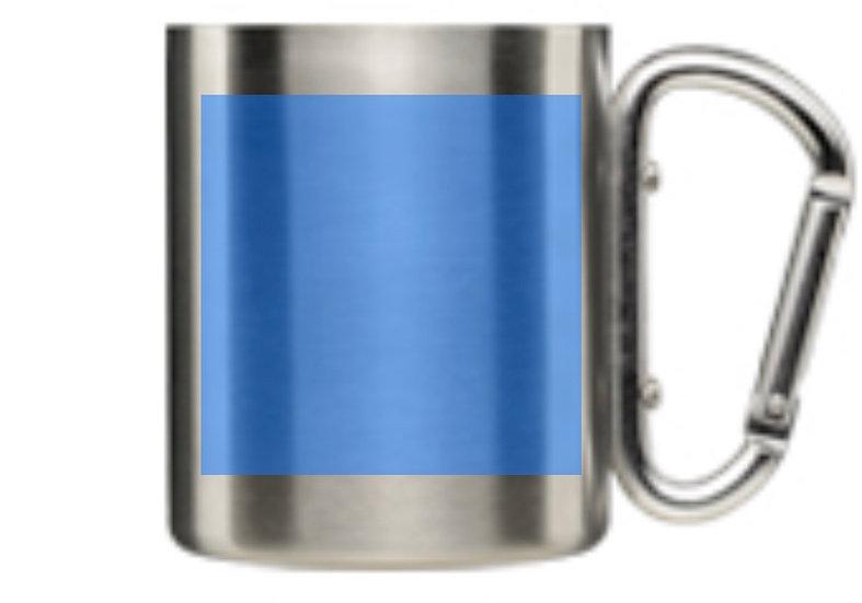 2/327 No Slack Stainless Carabiner Coffee Mug