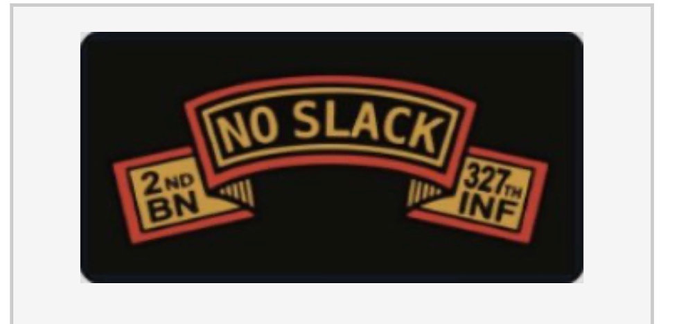 2/327 No Slack license plate