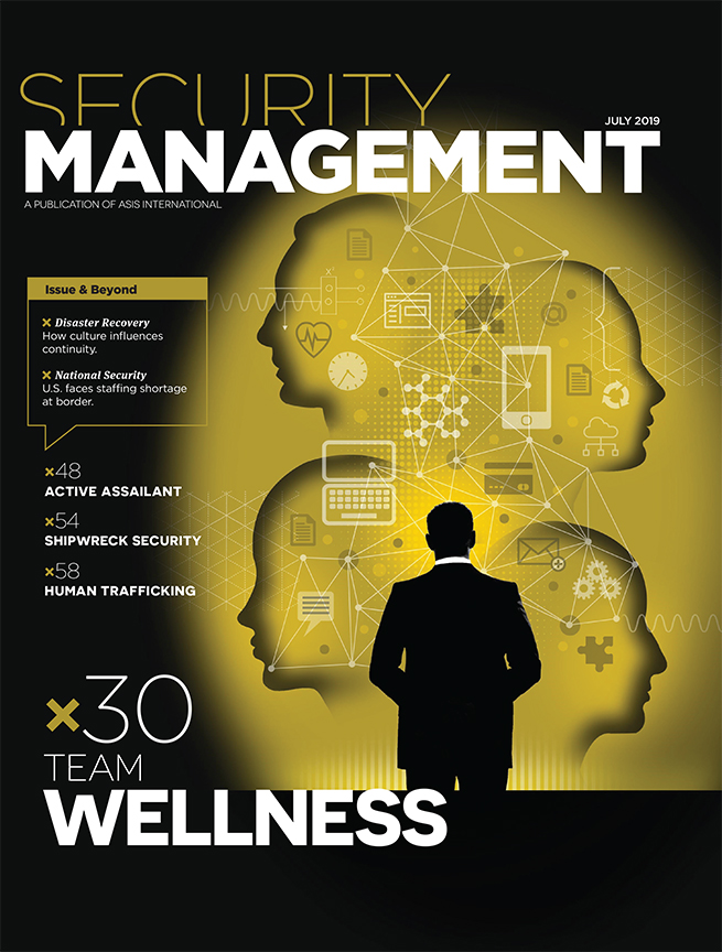 SECURITY MANAGEMENT MAGAZINE