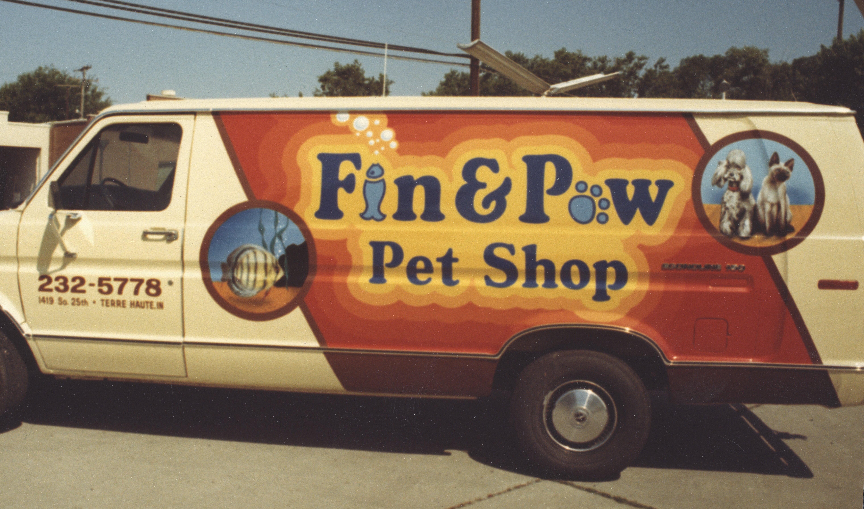 Fin & Paw Van Graphics