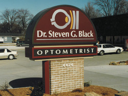 Dr Black Sign in Terre Haute IN