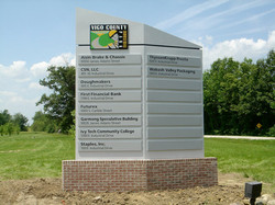 Vigo County Industrial Park Sign