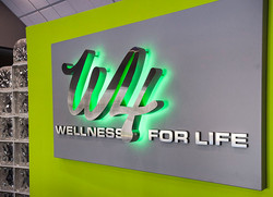 Wellness for Life interior display