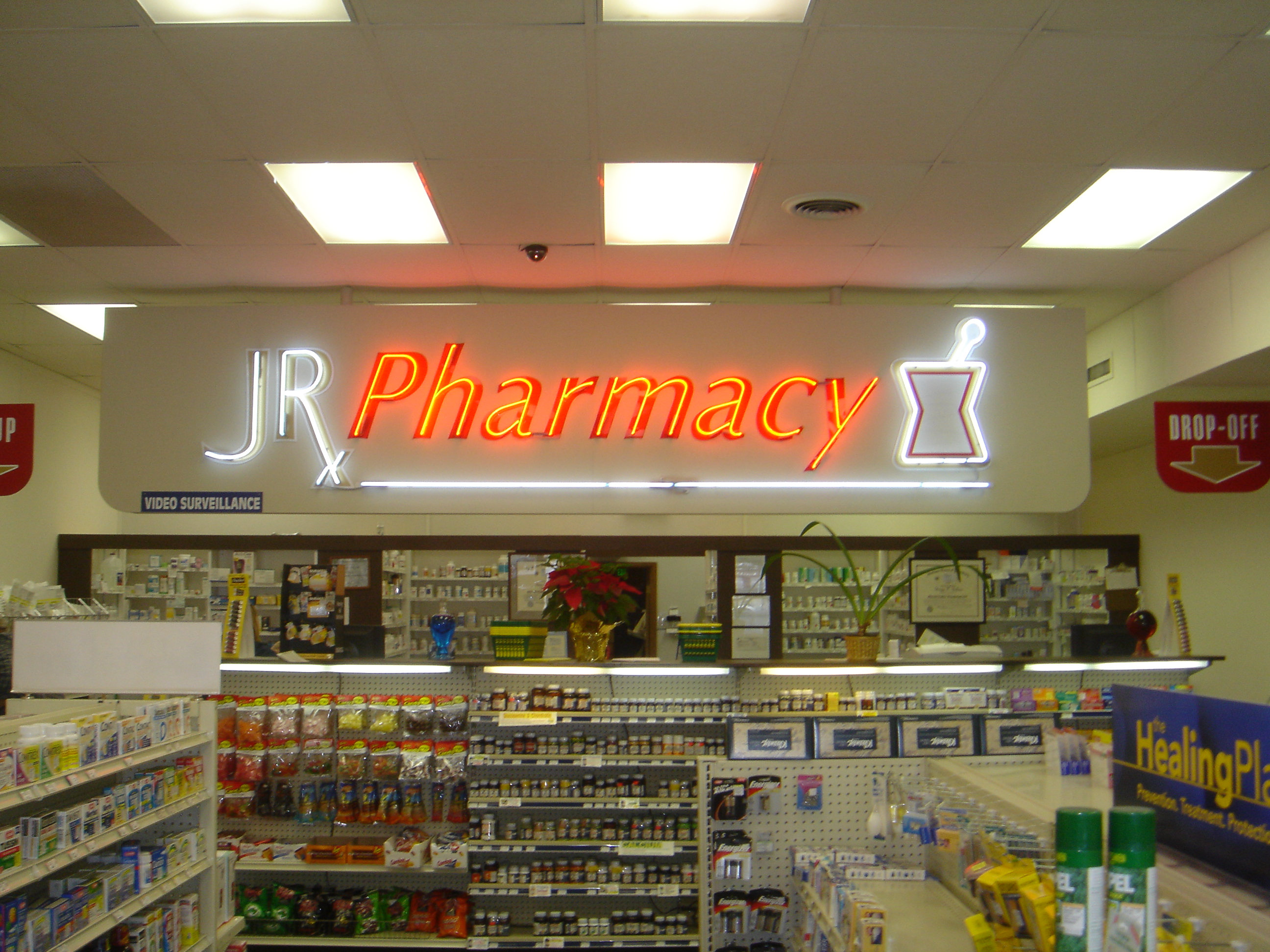 JR Pharmacy Neon