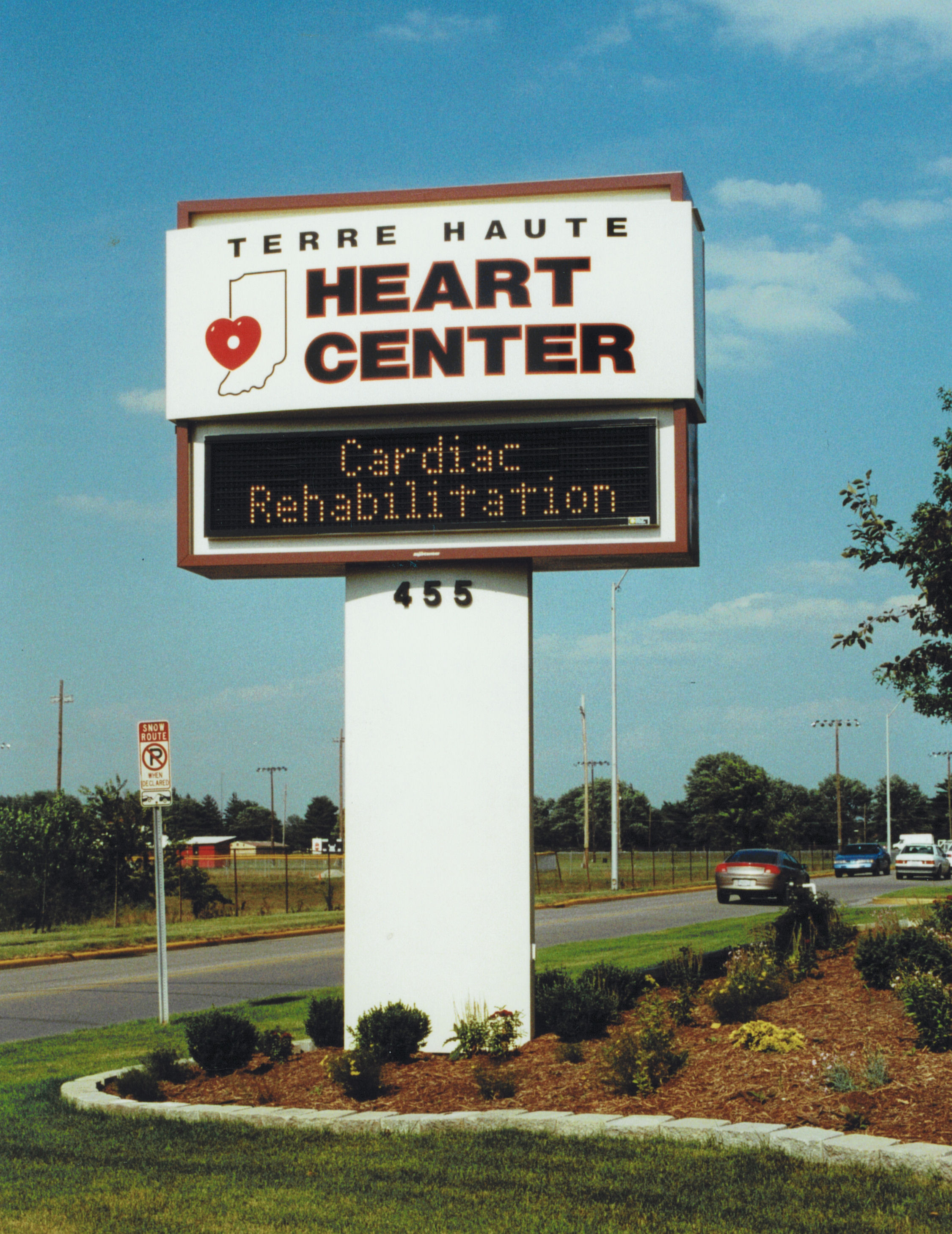 Heart Center Pylon