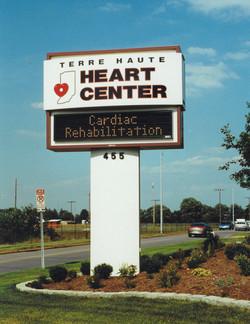 Heart Center Pylon