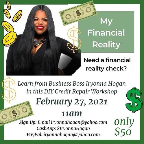 DIY Credit Repair Workshop