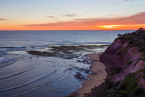 Sunrise over long reef