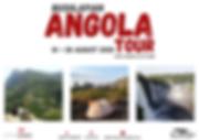 ANGOLA TOUR 14 - 28 AUG 2020 LIVE THE JO