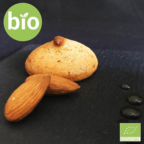 BIO • Macaron Amandes Miel 180g