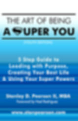 Front Cover the art of being a super you