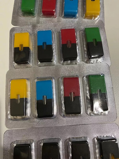 Refillable pods for juul (4pcs empty)