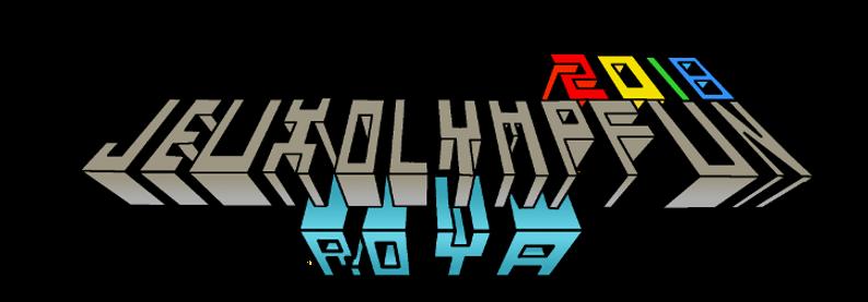 Logo jeux olympfun 2017, Fitensia minecraft, MinIFun fitensia, logo minecraft jeux lympfun