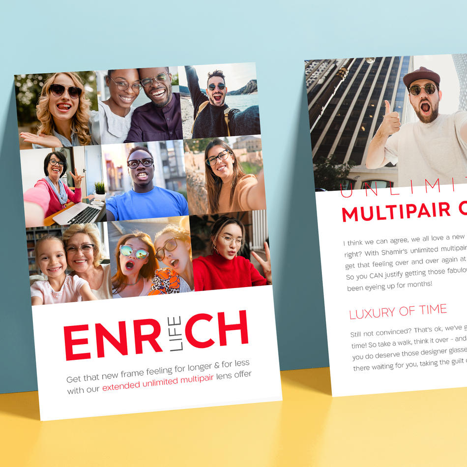 Enrich Life A5 Flyer