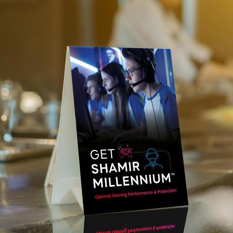 Millennium Tent Card