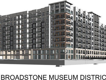 Currently in Progress: Broadstone Museum District