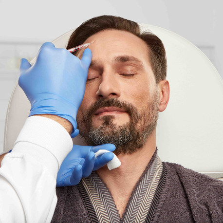 Presciptive treatments for the male face at Mid Kent Aesthetics Clinic, Maidstone