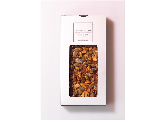 Tablette Graines de Courges Chocolat Lait