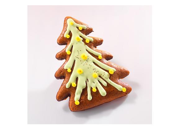 Pain d'Epices Sapin de Noël