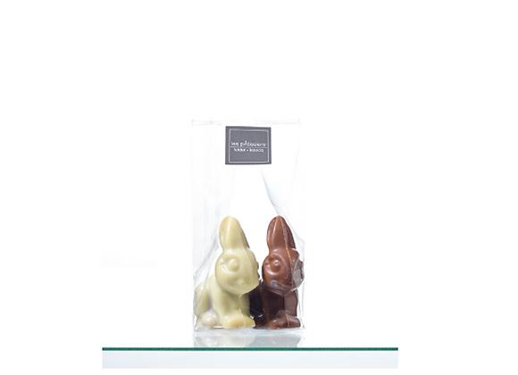 Duo de Lapins au Chocolat