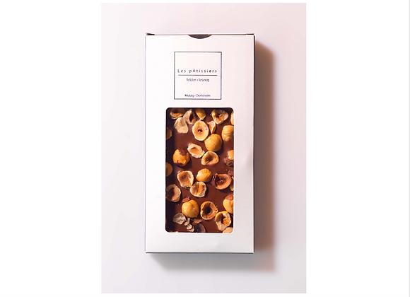 Tablette Noisettes Torréfiées Chocolat Lait