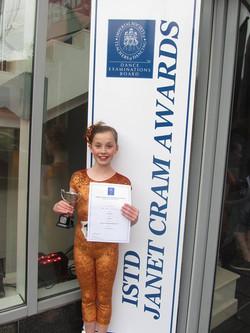 Ava Janet Cram winner 2013