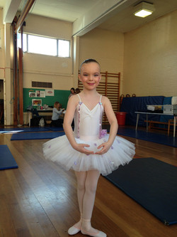 Evie's first competition