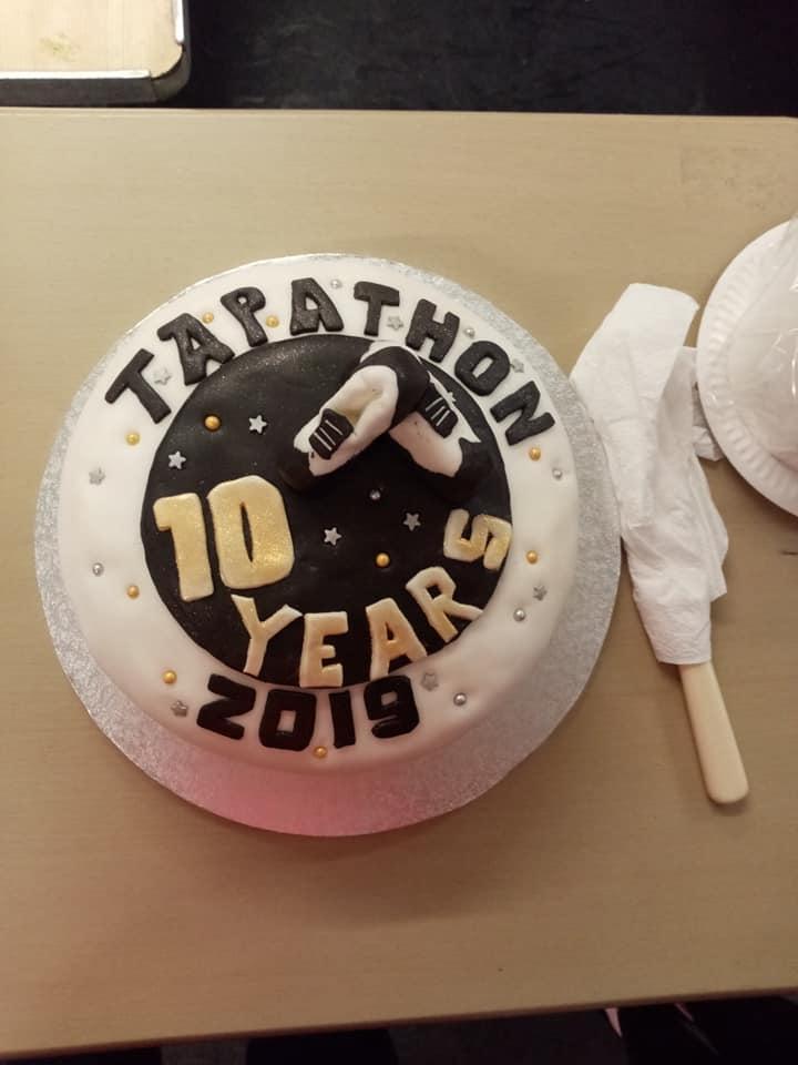 Tapathon 2019 cake 4