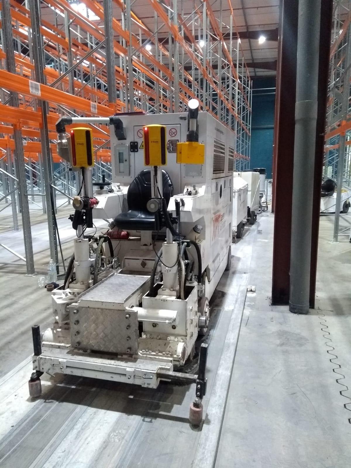 Laser grinding allée étroite