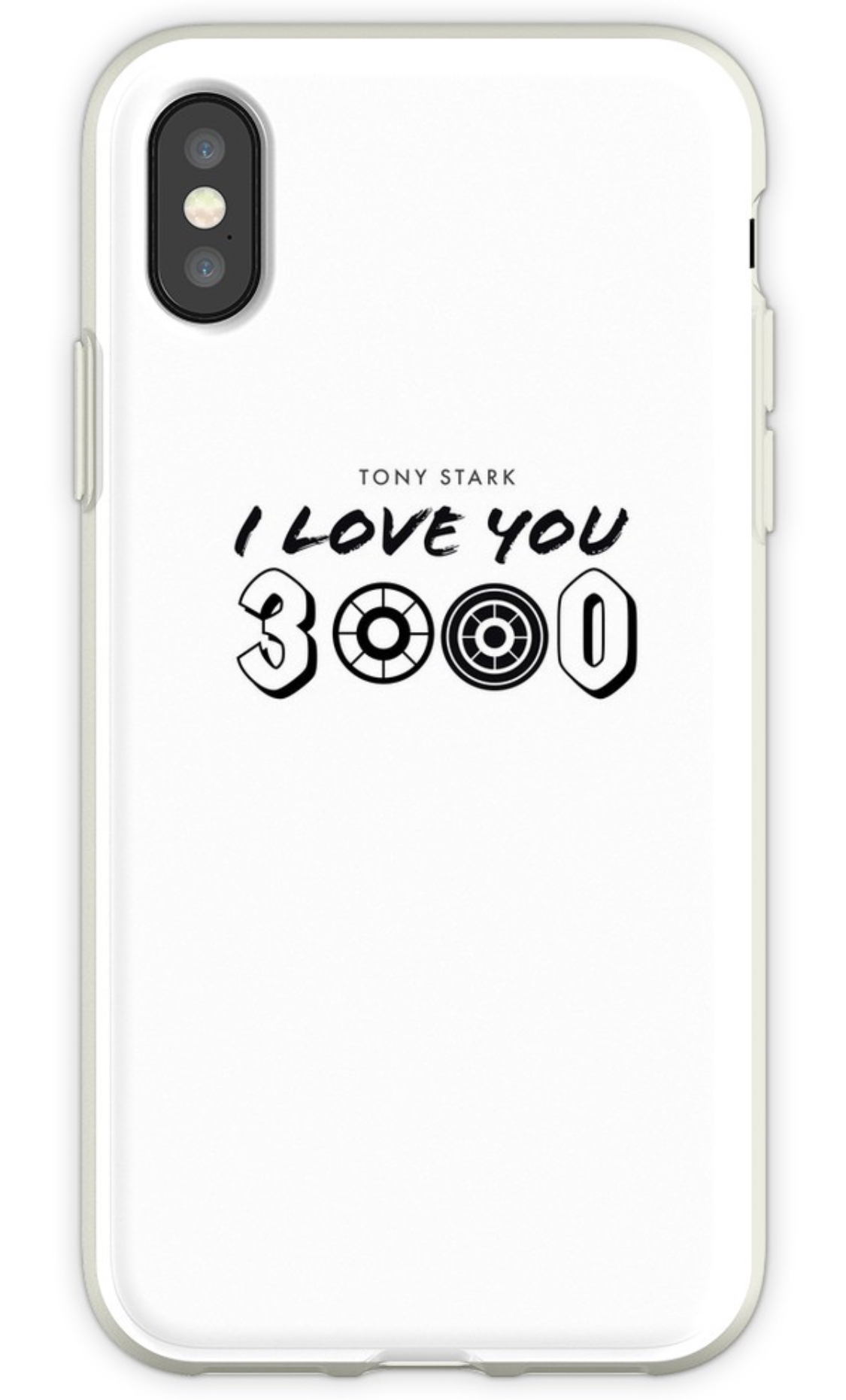 Iphone Case I love you 3000 Iron Man