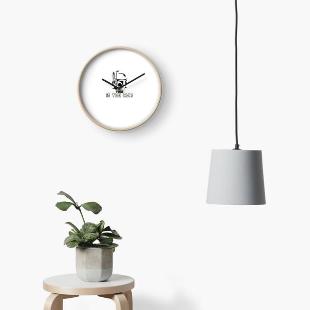Mandalorian Clock