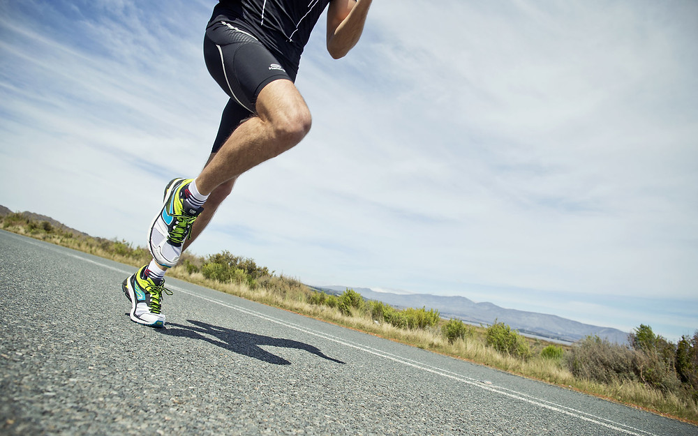 Studies show running and walking leads to a change in foot size as well