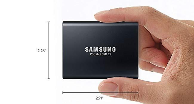Samsung T5 SSD Portable Rich Desire