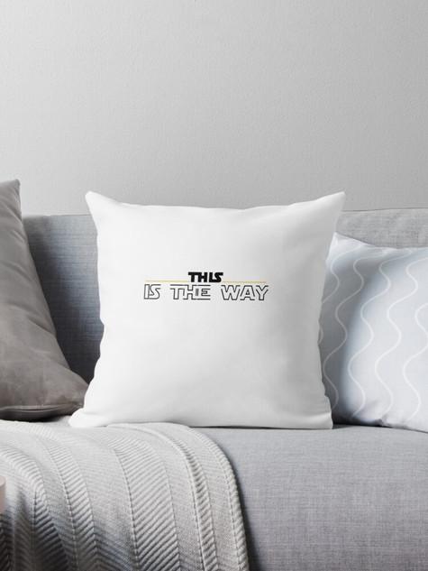 The Mandalorian Pillow