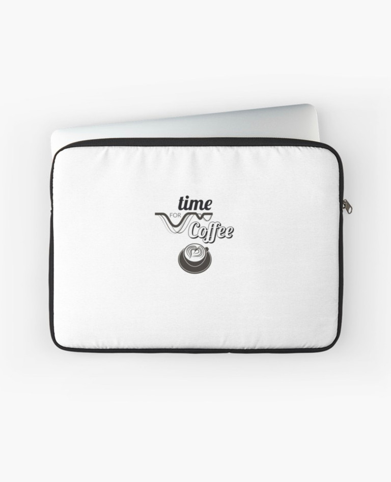 Time for coffee Laptop Case