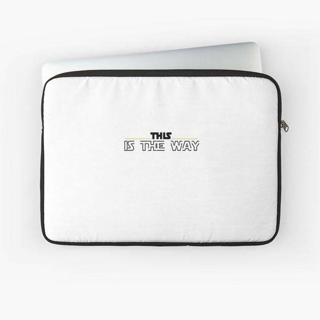 Mandalorian Laptop Case